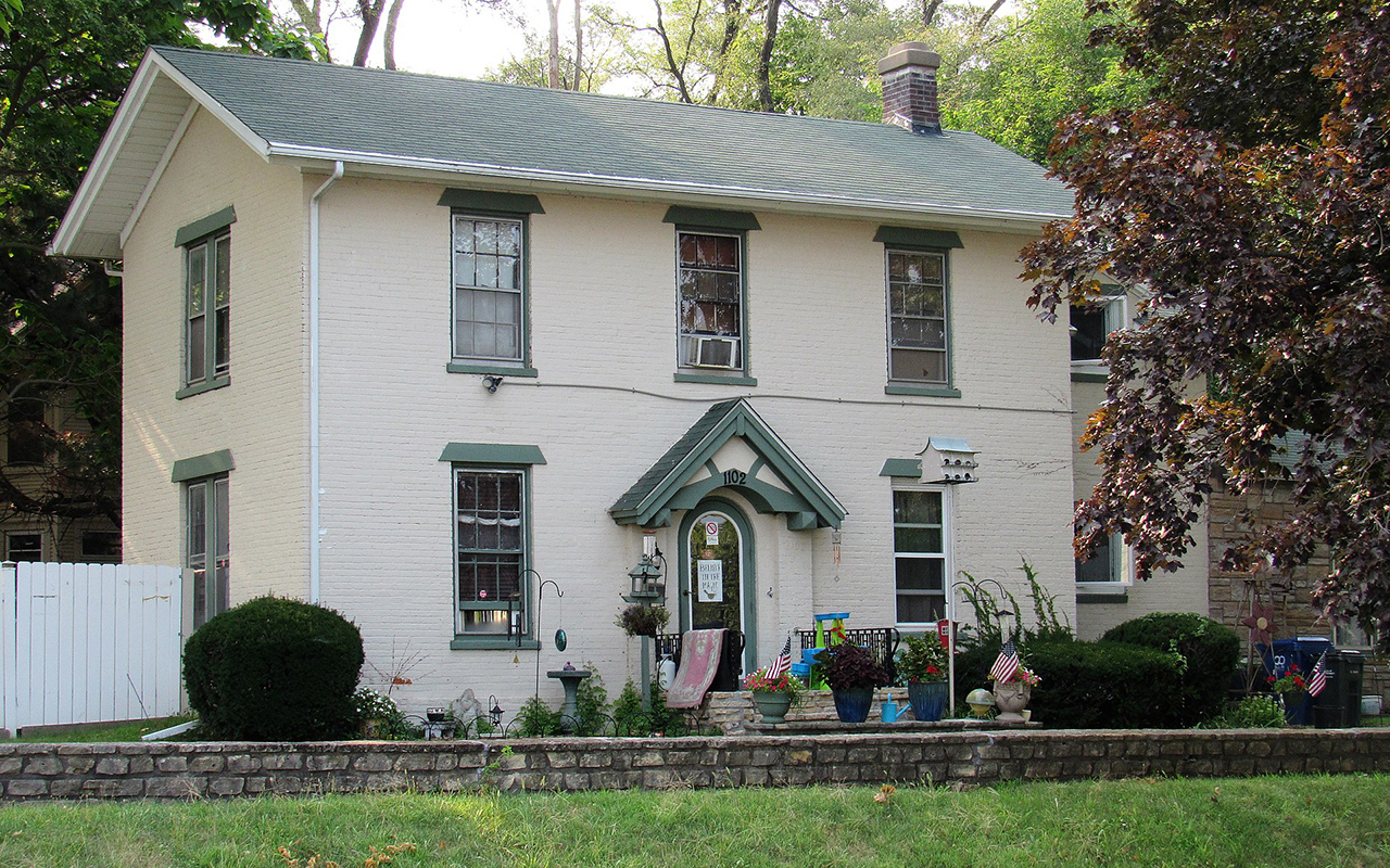 House in the Cork Hill Historic District