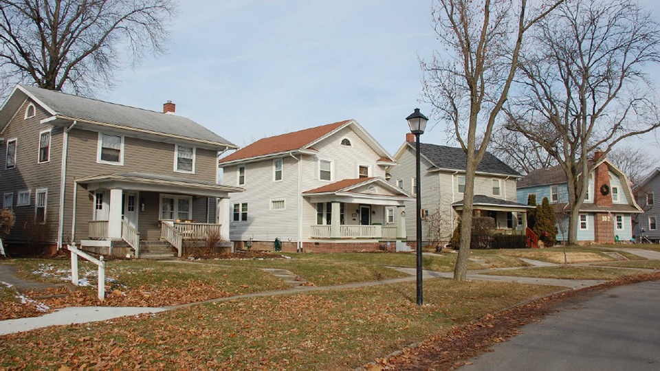 Harrison Hill Historic District, Fort Wayne, IN