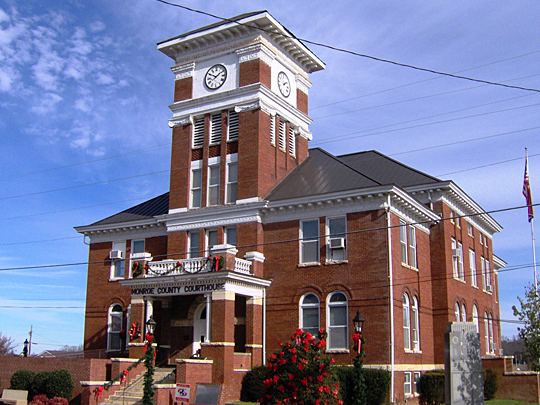Monroe County Tennessee Courthouse