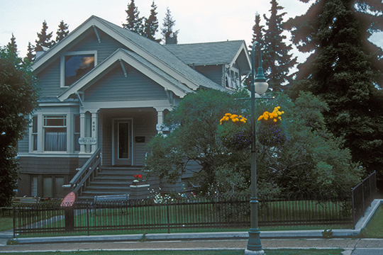 Leopold David House, ca. 1917, 605 West 2nd Avenue, Anchorage, AK, National Register