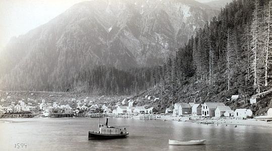 Juneau City ca. 1887