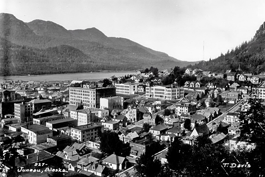 Chicken Ridge Historic District , Juneau, Alaska, ca. 1934