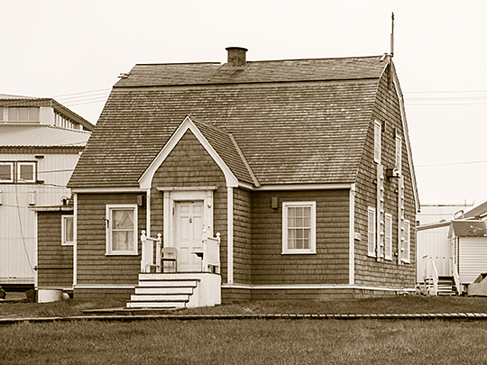 Utkeagvik Presbyterian Church Manse, ca. 1922, Momegana Street, Barrow, AK, National Register