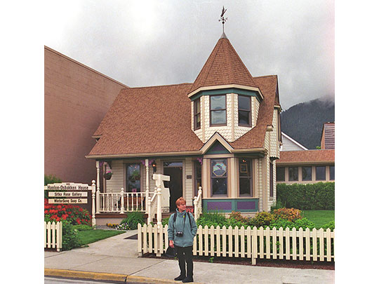 Hanlon-Osbakken House, ca. 1896, 419 Lincoln Street, Sitka, AK, National Register