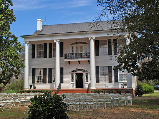 The Montgomery-Janes-Whittaker House, ca. 1822-1844, Prattville, AL, National Register