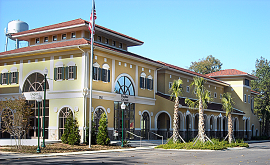 Daphne City Hall, ca. 2008, Daphne, Baldwin County, AL