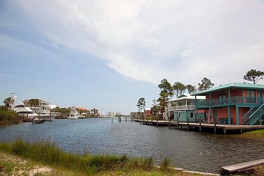 Residential Area, Gulf Shores, AL, Carol M. Highsmith, photographer