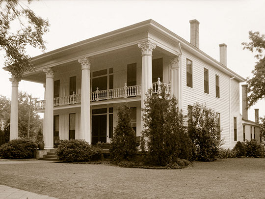 Beeland-Stanley House, Judge Henry Beeland House, ca. 1849, 218 East Commerce Street, Greenville, AL, Historic American Buildings Survey