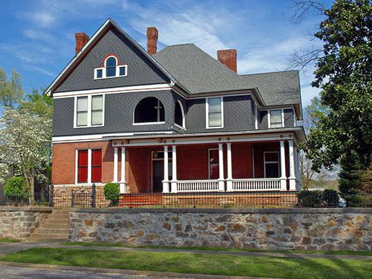 Richard P. Huger House, ca. 1888, 1901 Wilmer Avenue, Anniston, Alabama, National Register