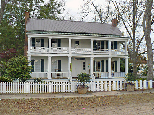 Alston-Cobb House, ca. 1854, 120 Cobb Street, Grove Hill, AL, National Register