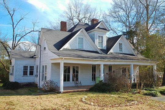 John Morgan House, ca. 1880, 321 Ross Street, Heflin, AL, National Register.