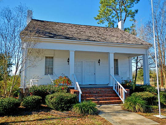Bethune-Kennedy House, ca. 1840, 300 Kirkland Street, Abbeville, AL, National Register