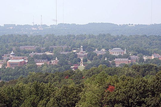 Samford University Campus, Homewood, Jefferson County, Alabama