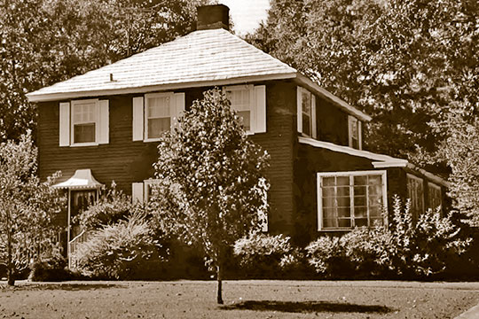 Home in the Cahaba Homestead Village Historic District, Trussville, AL, National Register