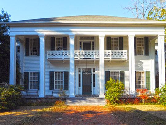 Creekwood, ca. 1844, Society Hill Road, Creek Stand, Macon County, AL, National Register