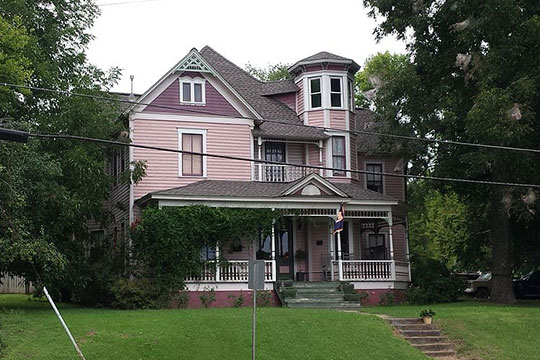 Albert G. Henry House, ca. 1895, 308 Blount Avenue, Guntersville, AL, National Register