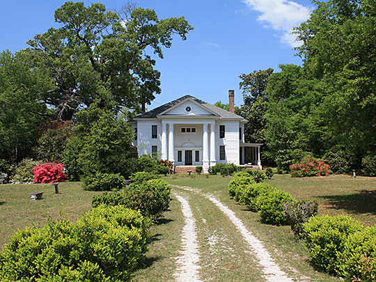 N.Q. and Virginia M. Thompson House, ca. 1905, 7850 LeBaron Avenue, Citronell, AL, National Register