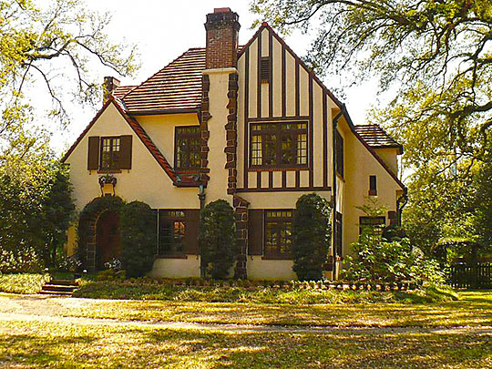 Home, 214 Lanier Avenue, ca. 1927, Ashland Place Historic District, Mobile, AL, National Register