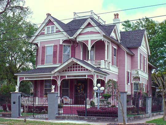Home at 211 Michigan Avenue, ca. 1899, Leinkauf Historic District, Mobile, AL, National Register