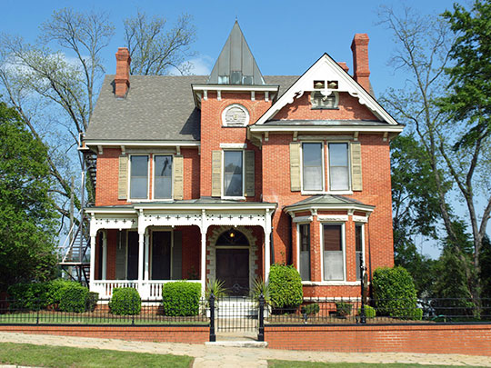 Stay House, ca. 1890, 631 South Hull Street, Montgomery, AL, National Register