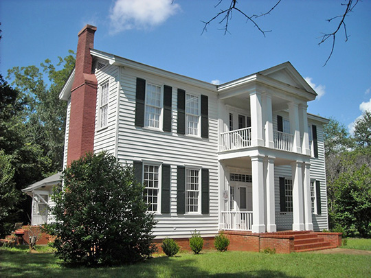 Governor Andrew Moore House, ca. 1830s,  Marion, AL