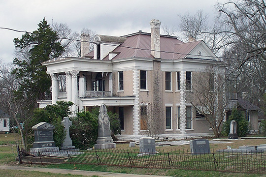 Co-Nita Manor, Uniontown Historic District, Uniontown, AL, National Register