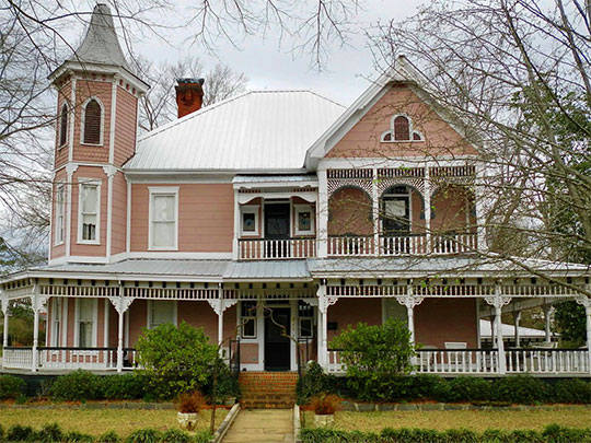 McKibbon House, ca. 1900, 611 East Boundary Street, Montevallo, AL, National Register