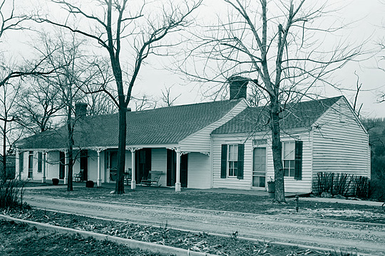 Colonel John Drennen House (also known as the Drennen-Scott House), 222 North 3rd Street, Van Buren, AR.