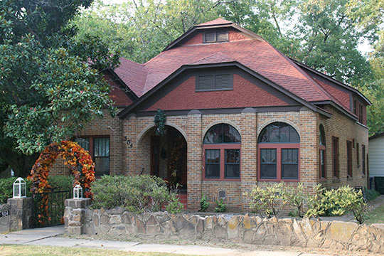 Michael M. Hiegel House, ca. 1911, 502 Second Street, Conway, AR, National Register
