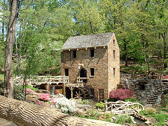 old mill,pugh memorial park,north little rock,ar,national register