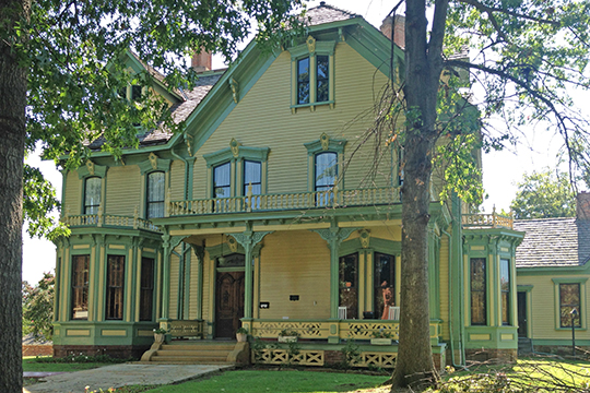 W.H.H. Clayton House, ca. 1874, 514 North 6th Street, Fort Smith, AR, National Register