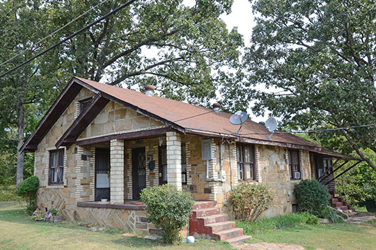 Walter Patterson House, 1800 Route 65 North, Clinton, AR, National Register