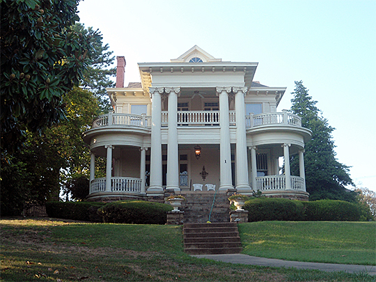The Pritchard House in the Mount Nord Historic District, Fayetteville, AR.