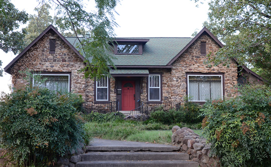Bloom House, ca. 1930, North Maple and Academy Streets, Searcy, AR, National Register