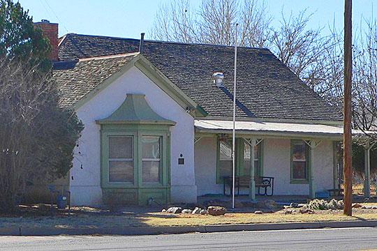 J. C. Wilson House, ca. 1900, 258 East Maley Street, Willcox, AZ, National Register