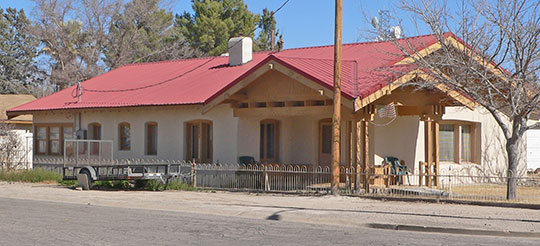 Joe Mee House, ca. 1930, 265 West Stewart Street, Willcox, AZ, National Register