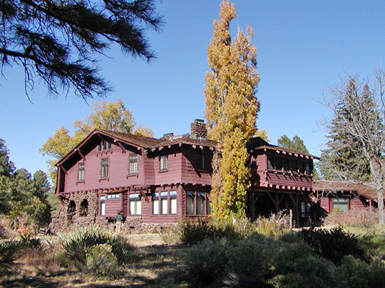 Riordan Mansion State Historic Park, Flagstaff, AZ, 1904, National Register