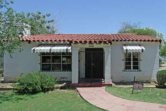Phillip Marshall House, ca. 1930, North 58th Drive, Catlin Court Historic District, Glendale, AZ, National Register