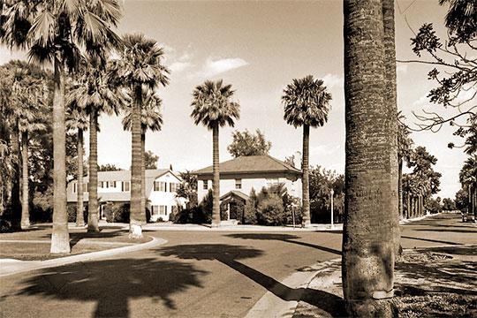 Homes on Palmcroft Drive, NW, Encanto-Palmcroft Historic District, Phoenix, AZ, National Register