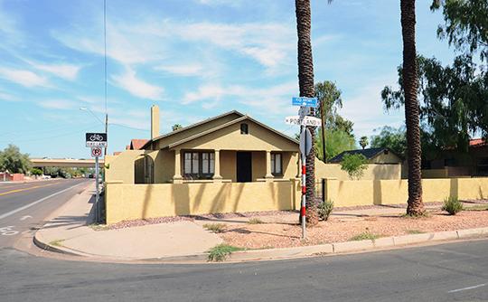Home in the F. Q. Story Neighborhood Historic District, Phoenix, AZ, National Register