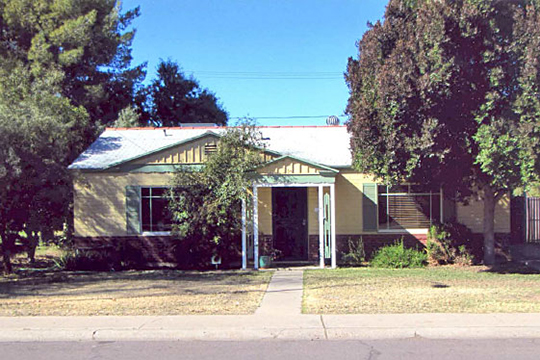 Home on South Una Avenue (Leland and Louise Coleman House), ca. 1948, Borden Homes Historic District, Tempe, AZ, National Register