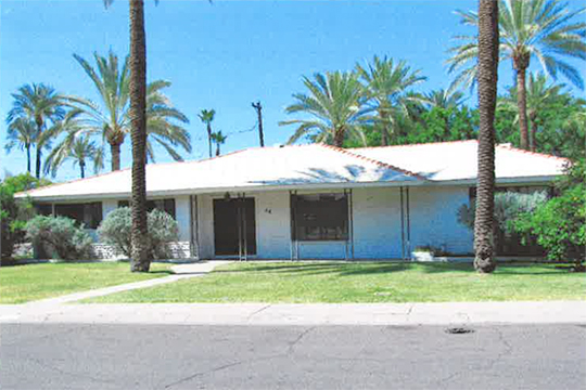 Home on Palmdale Drive West, Date Palm Manor Historic District, Tempe, AZ, National Register