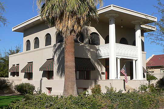 frederick ronstadt house,1904, north 6th avenue,henry c trost,national register,tucson,az