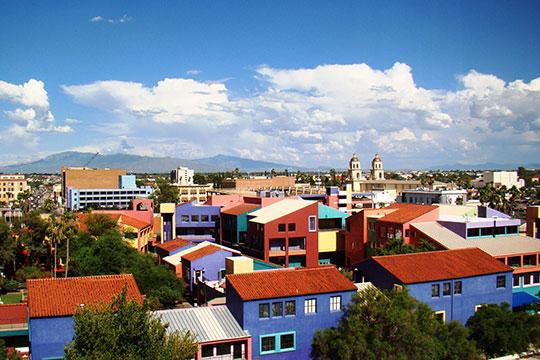 El Presidio Historic District, Tucson, AZ, National Register.