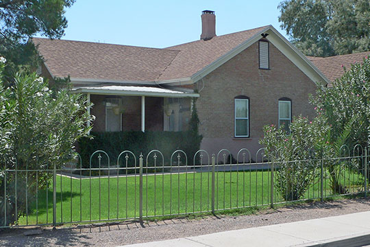 Albert Colton and H. H. Freeman House, ca. 1889, corner of Butte Avenue and Willow Street, Florence, AZ, National Register