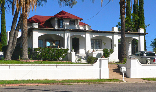 George Dunbar House, ca. 1918, 605 Sierra Avenue, Nogales, AZ, National Register