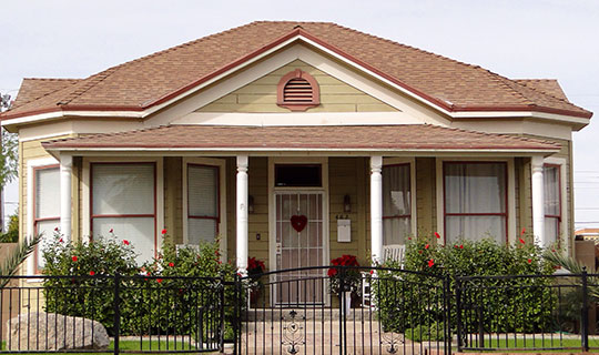 George Marable House, ca. 1925, 482 Orange Avenue, Yuma, AZ, National Register