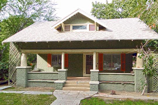 Henry Levy House, ca. 1916, 602 2nd Avenue, Yuma, AZ, National Register