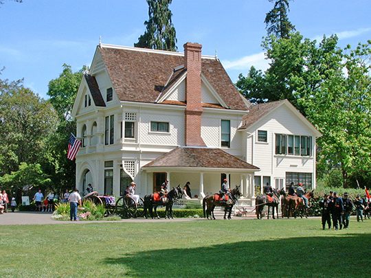 George Washington Patterson Ranch (Ardenwood), ca. 1857, 34600 Newark Boulevard, Fremont, CA, National Register