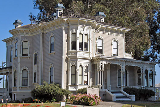 Cameron-Stanford House, ca. 1876, 1426 Lakeside Dr, Oakland, CA, National Register